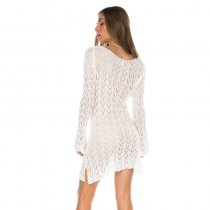 Brooklyn Tunic Dress In White