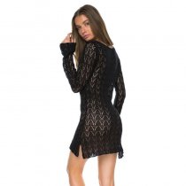 Brooklyn Tunic Dress In Black