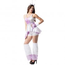 Unicorn Burlesque Animal Woman Costume