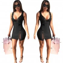 Open Bandage Dresses