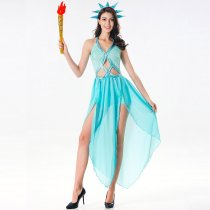 Patriotic Collection Adult Statue Of Liberty Costume
