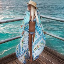Loose Chiffon Cover Ups Beach Cardigan