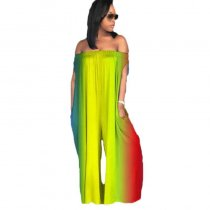 Patchwork Casual Fashion Jumpsuits