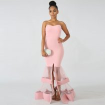 Sexy Sweetheart Mermaid Evening Dress