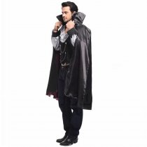 Men Halloween T Shirt And Cape