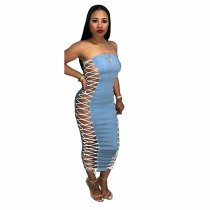 Bandage Tube Top Dress
