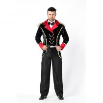 Handsome Men Hallter Magician Costume