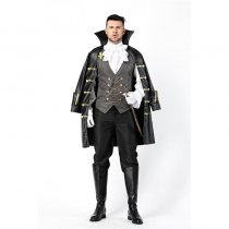 Men Halloween Carnival Vampire Cosplay Costume