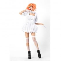 Halloween Ghost Doll Cosplay Coutume
