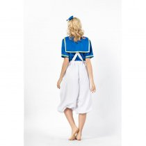 Two Piece Sailor Donald Duck Cosplay Costume