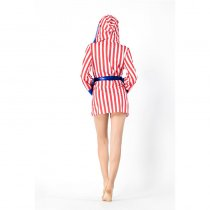 Ladies Sexy Stripe Boxing Costume