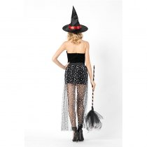 Women Witch Cosplay Halloween Costume