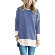 Two Tone French Terry Sweatshirt