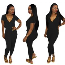 Wrapped Bloomer Jumpsuit