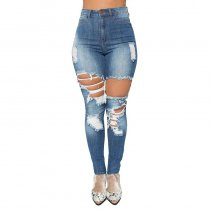 Come With Me Skinny Jeans - Light Blue Wash