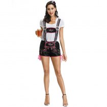 Flirty Lederhosen Adult Costume