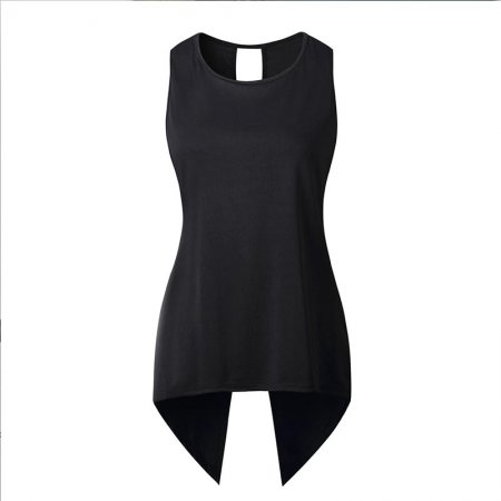 Asymmetry Sleeveless Blouse