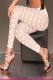 Lace Leggings in White Color L9483