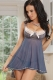 Pretty in Periwinkle Babydoll and G-String L27703