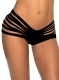 Black Stylish Scrunch Bottom L91290-4