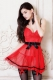 Red Apron Babydoll Set L28044-3