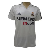 Real Madrid Home Retro Jersey Mens 2003/04