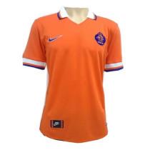 Netherlands Retro Home Jersey Mens 1997