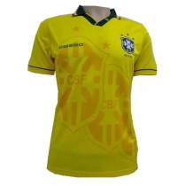 Brazil Home Retro Jersey Mens 1993/1994