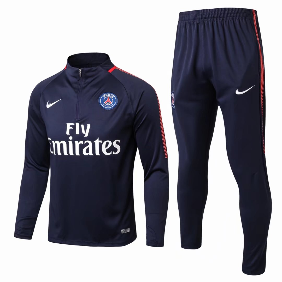 PSG Training Suit Royal Blue 2017 18 Item NO SW011054