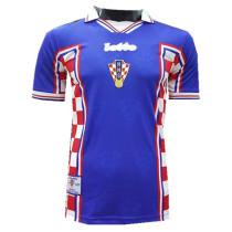Croatia Away Retro Jersey Mens 1998