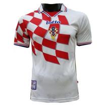 Croatia Home Retro Jersey Mens 1998
