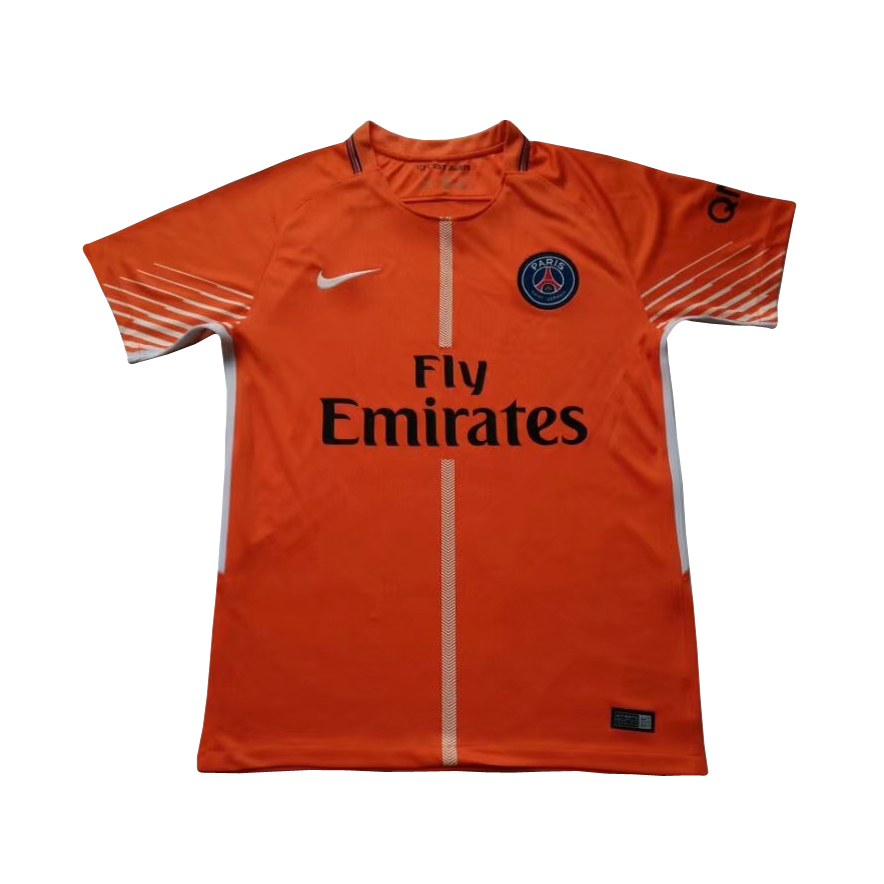 online store 4a7e2 50b8c PSG Goalkeeper Jersey Orange Men 2017/18