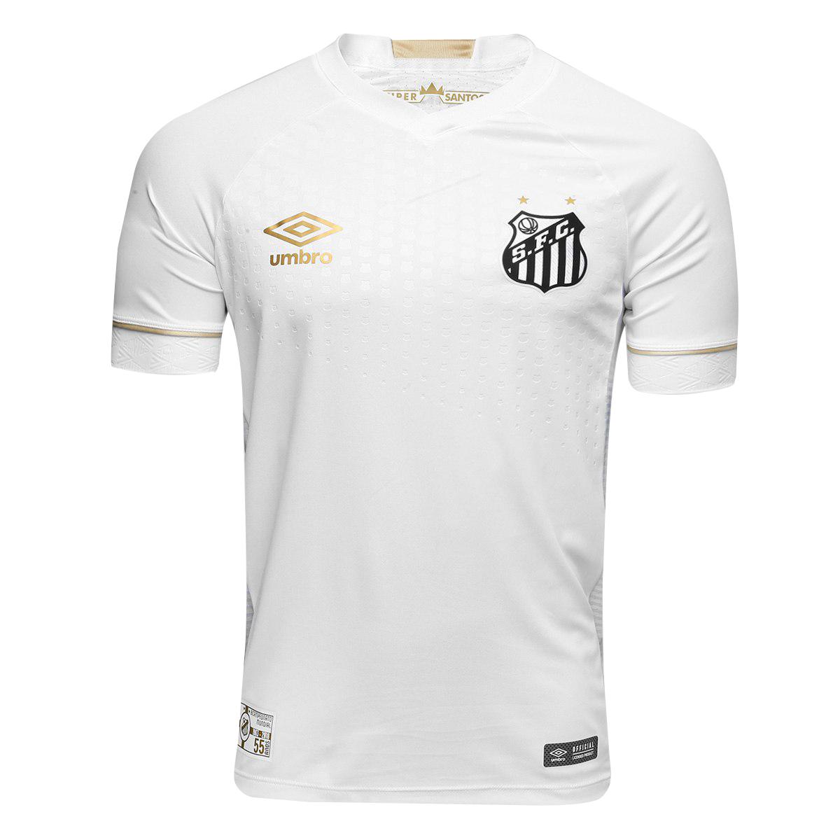 Santos FC Home Jersey Men's 2018/19