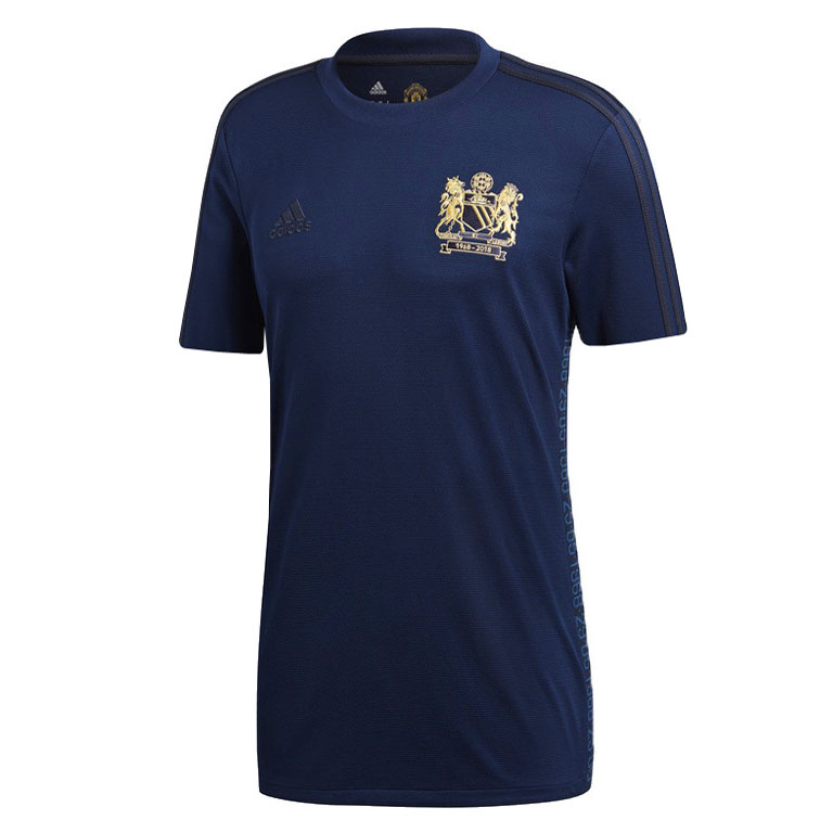US$ 15.80 - Manchester United 1968-2018 Special Edition Jersey - m ...