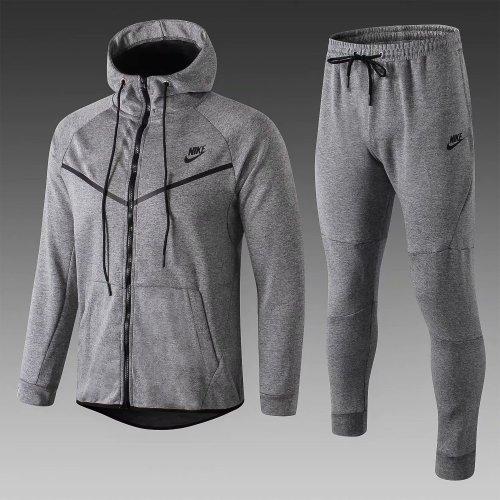 Us 44 80 Nike Tech Fleece Hoodie Jacket Pants Training Suit Grey 2019 M Fcsoccerworld Com