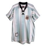 Argentina Home Retro Jersey Mens 1998