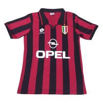 AC Milan Retro Home Jersey Mens 1996