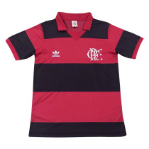 Flamengo Retro Home Jersey Mens 1982