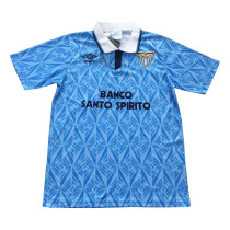 S.S. Lazio Retro Home Jersey Mens 1992