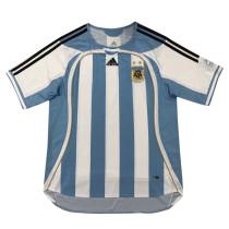 Argentina Home Retro Jersey Mens 2006