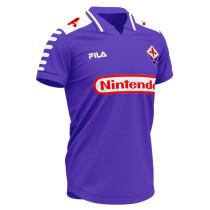 ACF Fiorentina Retro Home Jersey Mens 1998