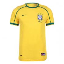 Brazil Retro Home Jersey Mens 1998
