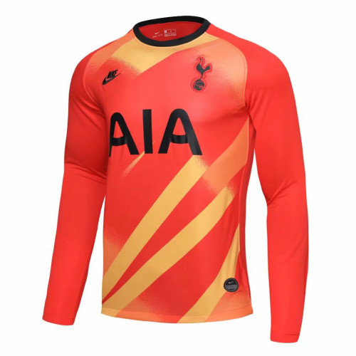 Us 16 8 Tottenham Hotspur Goalkeeper Orange Jersey Long Sleeve Mens 2019 20 M Fcsoccerworld Com