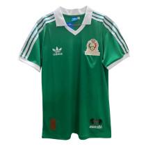 Mexico Retro Home Jersey Mens 1986