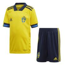 Kids Sweden Home Jersey 2021