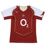Arsenal Retro Home Jersey Mens 2004/2005