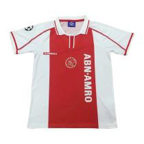 Ajax Retro Home Jersey Mens 1998