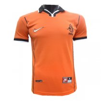 Netherlands Home Retro Jersey Men's 1998