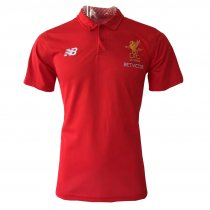 Liverpool Polo Shirt Red 2017