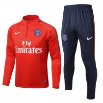 PSG Training Suit Zipper Red 2017/18